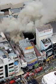 大阪豊中庄内駅商店街で火事ほか今日の #スクラップ #2014 #4/28