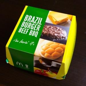 ブラジルバーガー ビーフBBQ