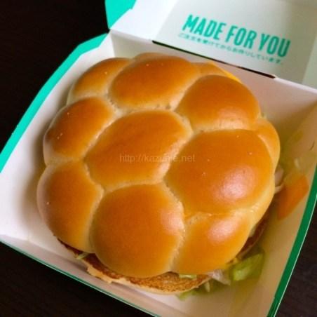 マクドナルド期間限定バーガー「ブラジルバーガー ビーフBBQ」#マクドナルド