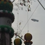 仙台七夕、スヌーピー飛行船 #SNOOPY_J http://t.co/6tB0THduFW