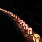 松島 海の盆、瑞巌寺灯道受賞灯籠 http://t.co/3mme4diuAN