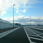 仙台市地下鉄東西線荒井駅、周辺道路の一部が未開通だった。開業時には通れるようになるかな。 https://t.co/rWqV5jbQ5t