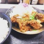 #唐揚げ油淋鶏 #松のや