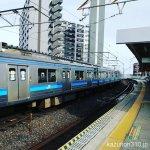 #仙石線 #苦竹駅 電車とホームの間に隙間と段差があります→穴と思えるほどだった