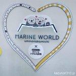 #ハッピーバレンタイン #マリンワールド海の中道 #iPhone7Plus