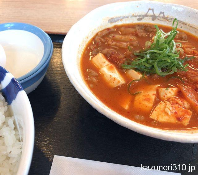 #豆腐キムチチゲ膳 #松屋