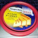 #キャラメルチーズタルト #ハーゲンダッツ #ファミマ限定 うまうま