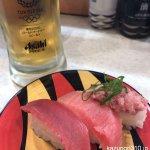 #鮪三昧 #かっぱ寿司 #生ビール半額クーポン
