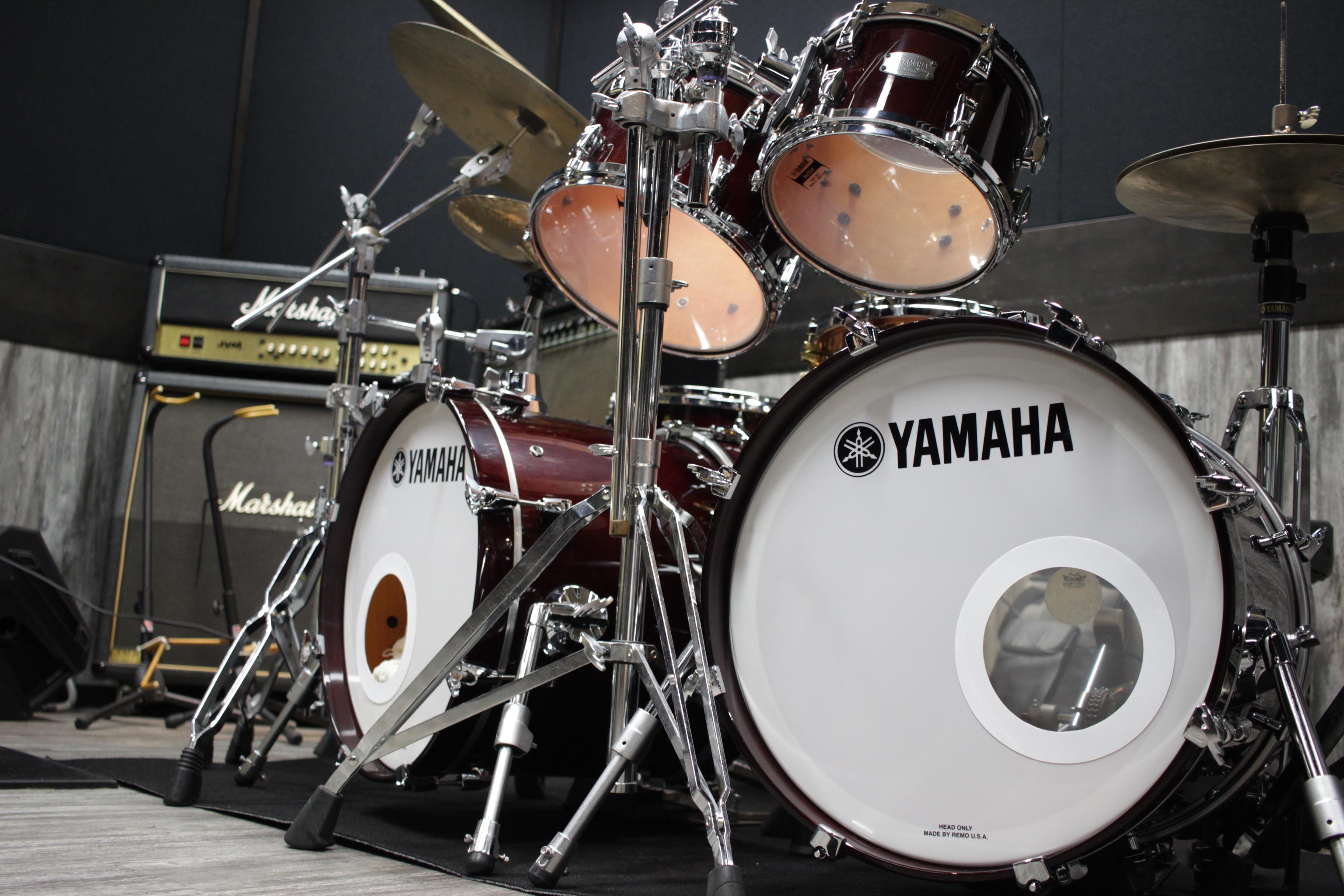 ドラムセット使用機材