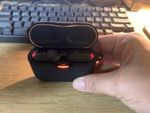 SONYの完全ワイヤレスイヤフォン(WF-1000XM3)が良い!