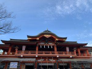 昨日は千葉神社へ。