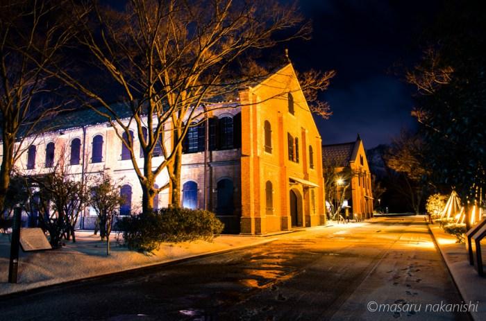 石川県立歴史博物館ライトアップ