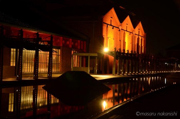 金沢市民芸術村ライトアップ