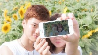 ひまわり畑でLovegraphの撮影してきました☆通算10組目のカップルになります(/・ω・)/