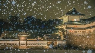 金沢城・兼六園ライトアップ2018冬の段が開催中です【2月20日まで】