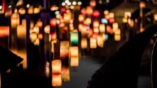 今年も夏至の日の「百万人のキャンドルナイト」in金沢市民芸術村が行われました。