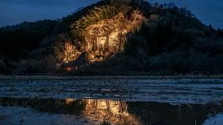 小松市滝ケ原の石切り場ライトアップがスタート&フォトコンテストやっているそうです☆