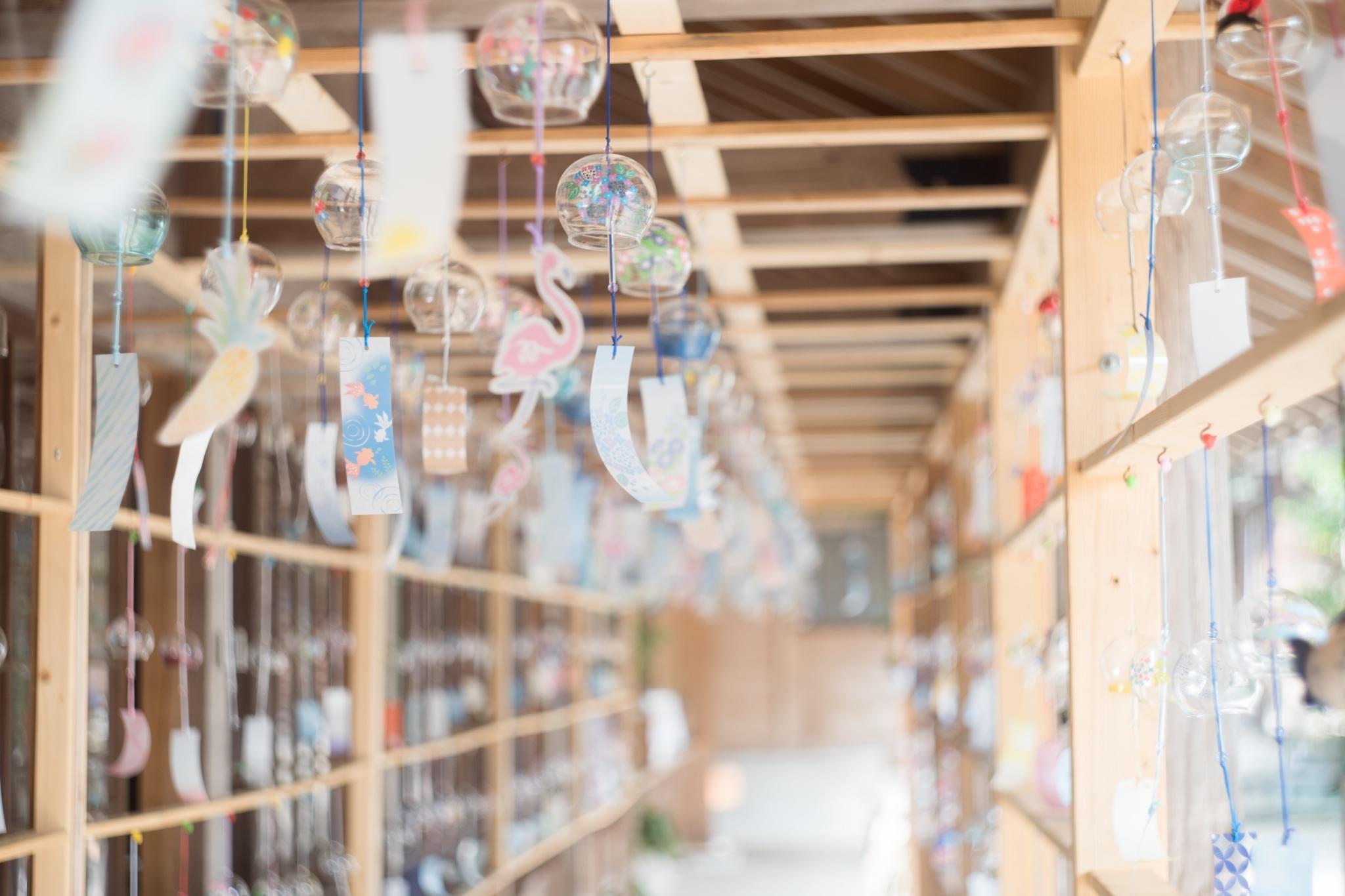 櫛田神社の風鈴通り