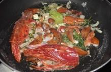 Lobster & Salmon Ravioli with Lobster Sauce 16