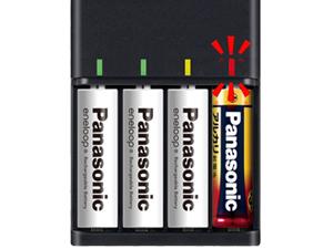 エネループ充電池 スタンダードモデル BK-4MCC/4SA+急速充電器 BQ-CC73AM-Kの性能を解説【繰り返し使える長持ち充電池】 234