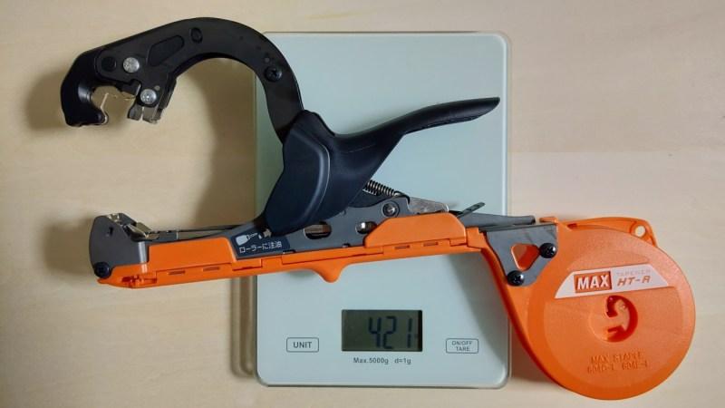 マックス楽らくテープナー HT-Rの性能・使い方・部品を解説【園芸結束機で楽らく誘引】 528