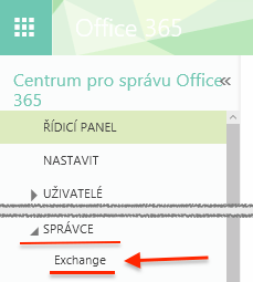Office 365 - Správa Exchange