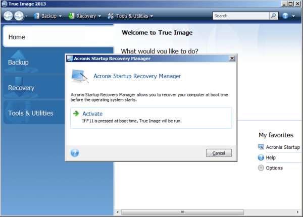 Acronis True Image: Troubleshooting Acronis Startup ...