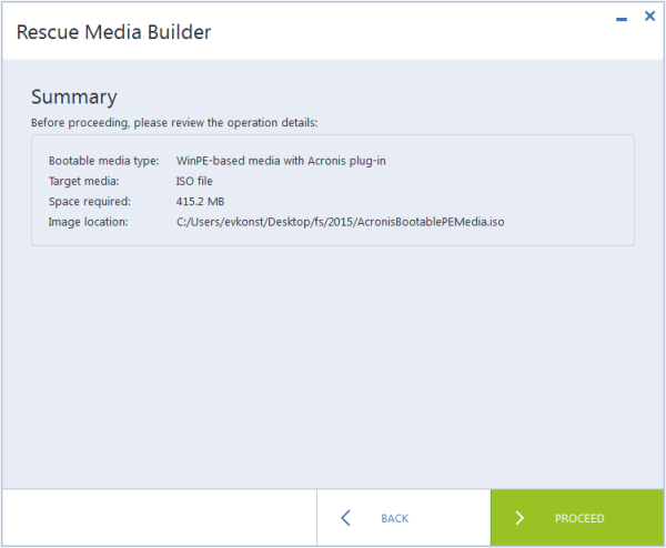 Acronis True Image 2015: Creating WinPE Media with Acronis ...