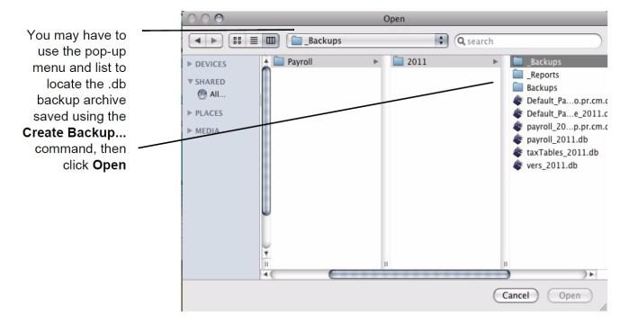 Create Backup-mac