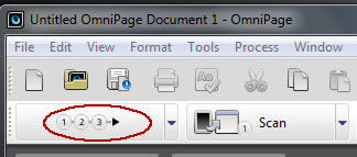 Image of Omnipage screen