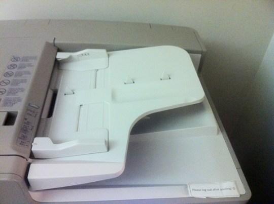Image of document feeder