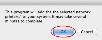 Image of printer description dialog box