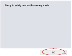 Image of safe to remove drive