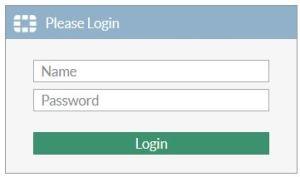 Remote Login Page