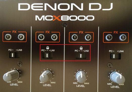 denondj mcx8000 mixer