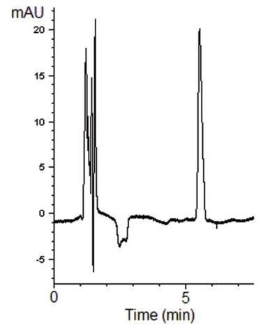 Baclofen Chromatogram