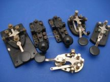 6-lot-telegraph-morse-code-key-sp2-more-e2a6903a8622d012f33c50273f41247a