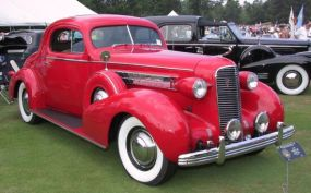 1936 Cadillac 60 Coupe