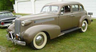 1937 Cadillac 60