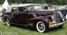 1938 Cadillac 90 Convertible Sedan
