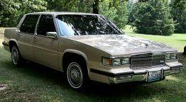 1985 Cadillac Sedan De Ville