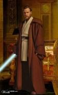 Obi Wan in Napoleon study