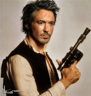 Robert Downey JR - Han Solo