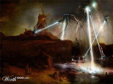 War of the Rembrant (Война Миров Рембрандта)