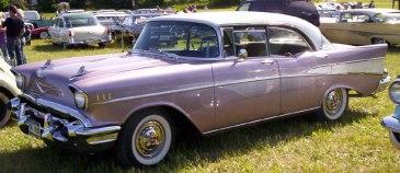 1957 Chevrolet Bel Air hardtop sedan