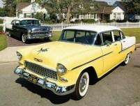 Chevrolet Bel Air 4-Door Sedan и 2_door Sedan '1955
