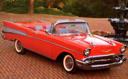 Chevrolet Bel Air Convertible '1957
