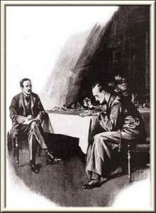Illustration by Frank Weil, The Strand Magazine, September 1914