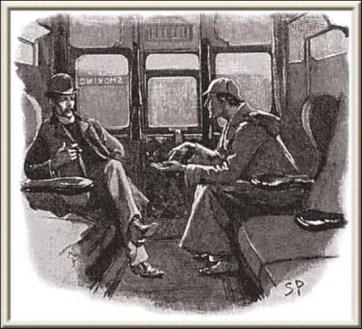 Strand Magazine illustration by Sidney Paget