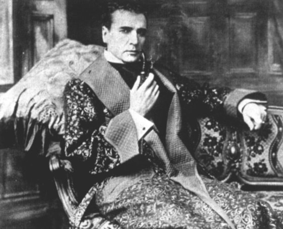 William Gillette as Holmes